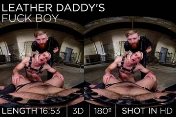 Leather Daddy's Fuck Boy