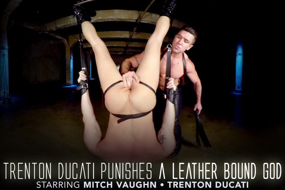 Trenton Ducati Punishes a Leather Bound God